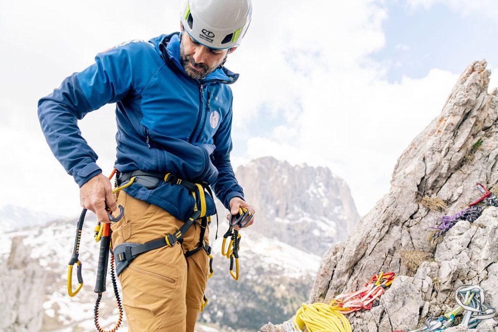 In montagna conta la sicurezza e la funzionalità delle attrezzature. Le novità 2022 per l'arrampicata e l'alpinismo di Climbing Technology © Enrico Veronese