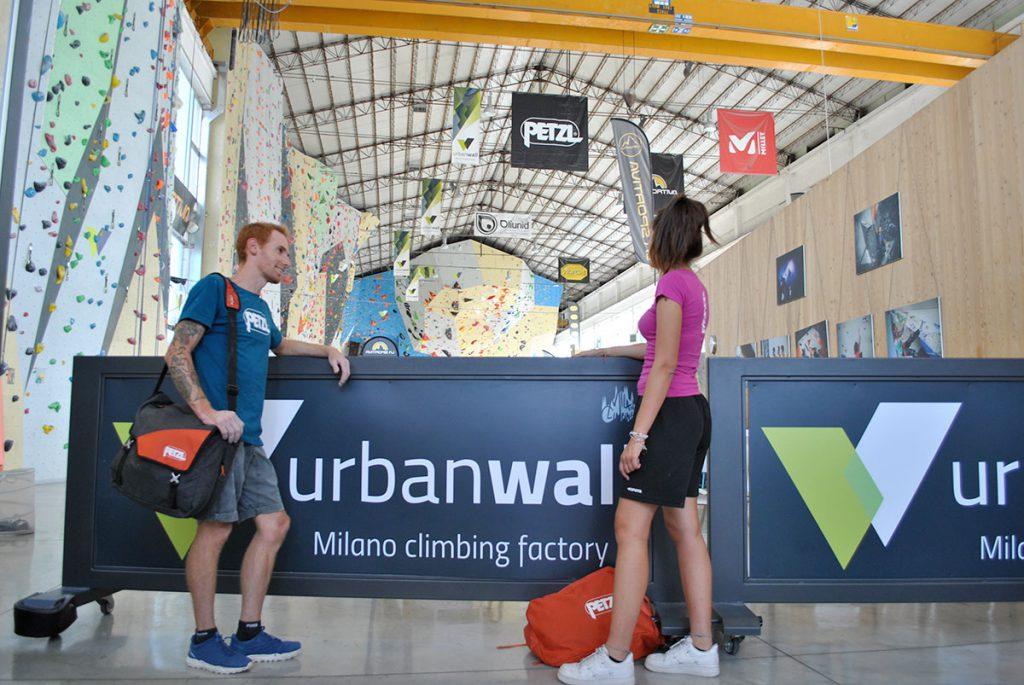 Urban Wall, la palestra di Arrampicata sportiva di Pero, zona strategica dell'hinterland milanese, sono di tutto rispetto. © Andrea Calilli