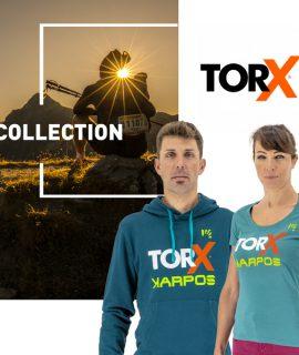 Come main sponsor del Tor des Géants, Karpos ha creato la linea di capi di abbigliamento tecnico ufficiale del TORX®