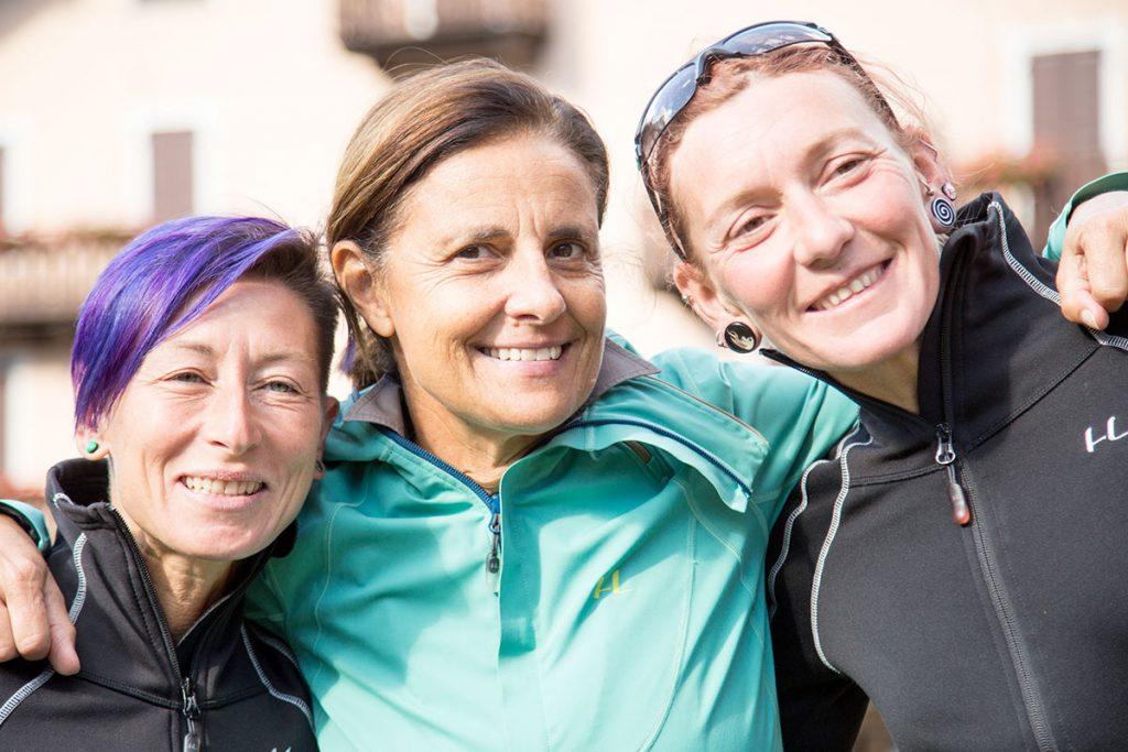 Scilla Tonetti con Anna Ferrino e Alice Modignani © Alfredo Croce